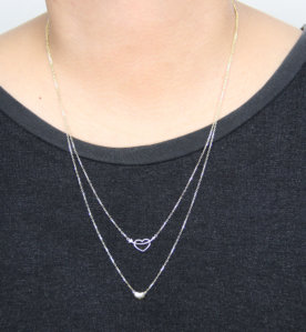CHARMER Necklace (When Worn) by Oro China Jewelry