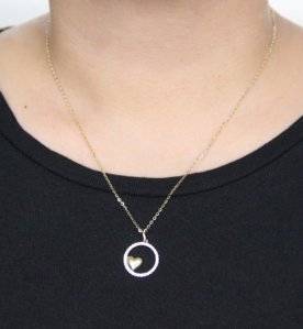 Pragma Necklace (When Worn) by Oro China Jewelry