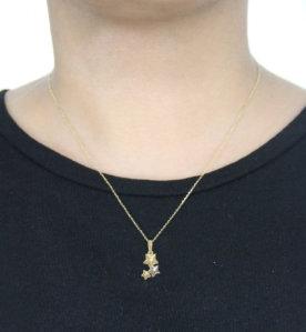 Gloria Necklace (When Worn) by Oro China Jewelry