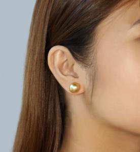 Marina Earrings (When Worn) by Oro China Jewelry